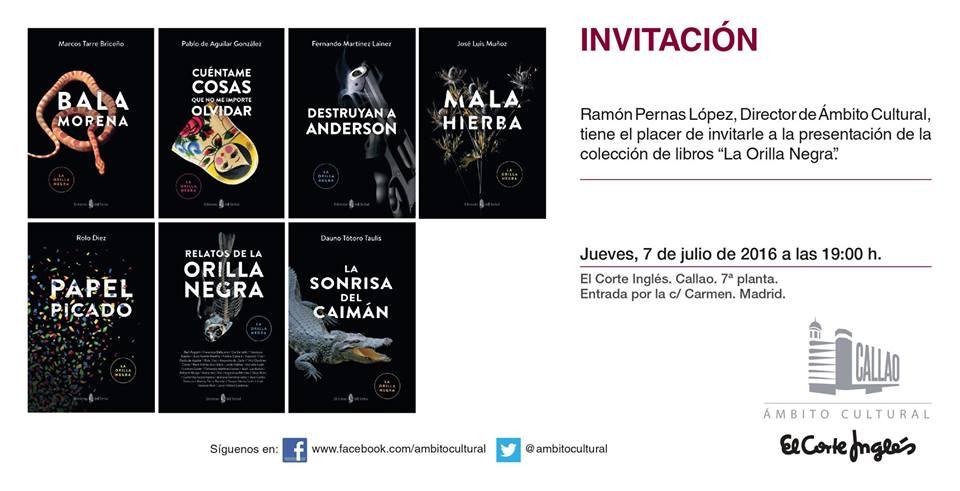 INVITACIÓN MADRID