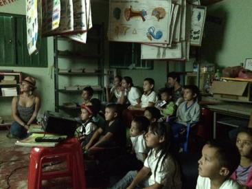 Films at the local school