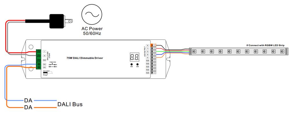 medium resolution of 75w dali driver datasheet