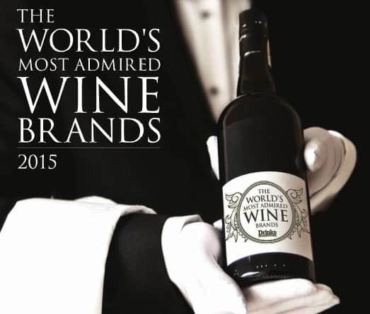 Las 50 marcas de vino más admiradas del mundo en 2015