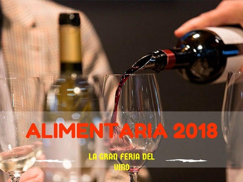 Alimentaria 2018, la gran feria del vino, ya a la vista