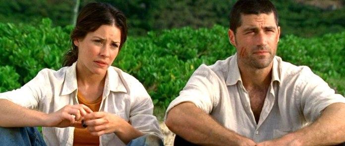 Perdidos (2004) - Evangeline Lilly (Kate Austen) y Matthew Fox (Jack Shephard)