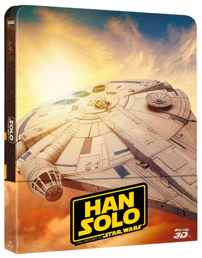 Carátula 'Han Solo' Steelbook