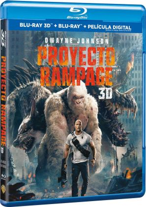 Proyecto Rampage Blu-ray 3D