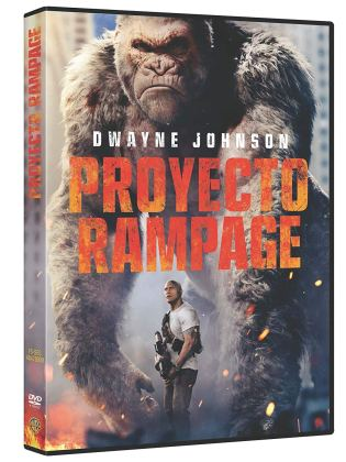 Proyecto Rampage Dvd