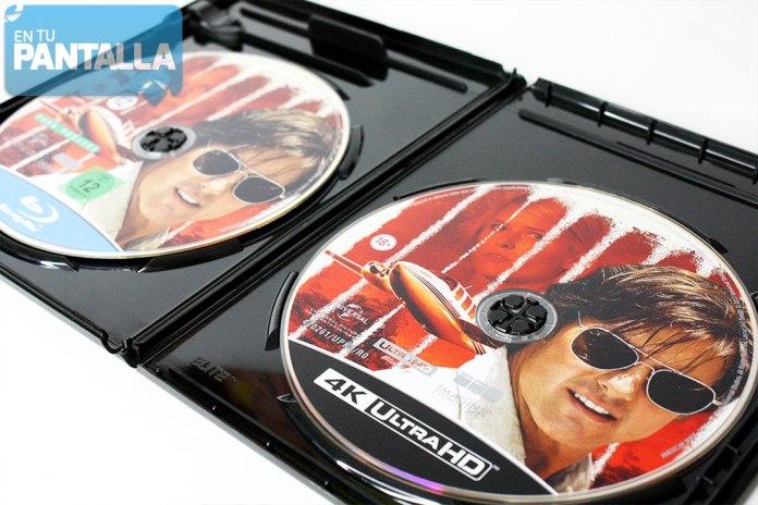'Barry Seal: El traficante' 4K Ultra HD