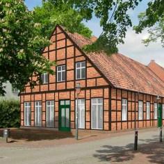 Bildmontage: Gasthof Alte Post, Drensteinfurt