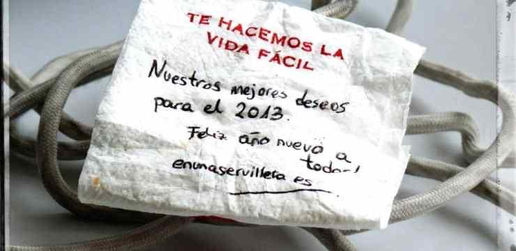 enunaservilleta.es os desea !!!Feliz año nuevo 2013!!!