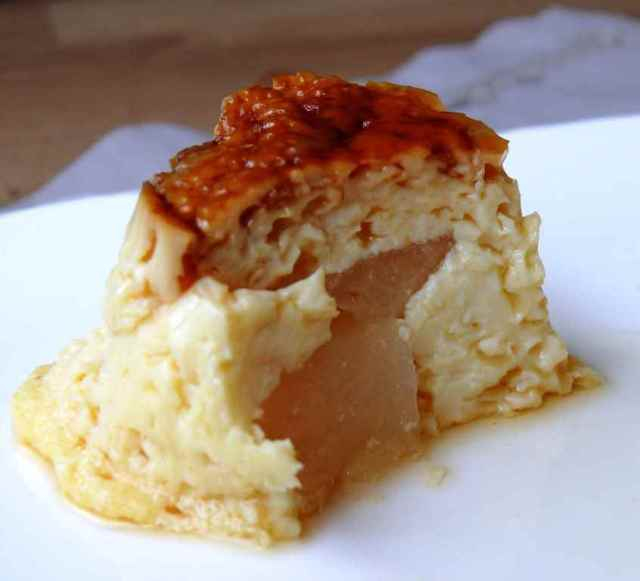 flan con thermomix