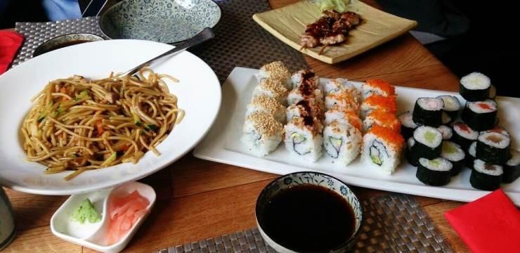 Restaurante buffet japones : Sumosan Nuevos Ministerios