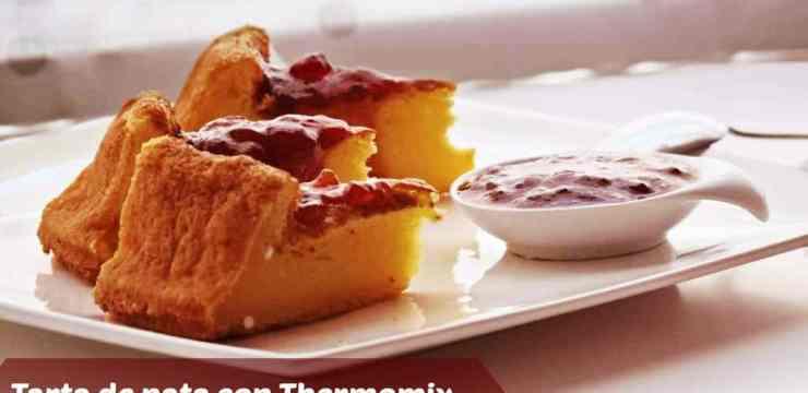 Tarta de nata con thermomix