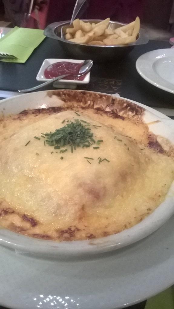 lasagna aquarel