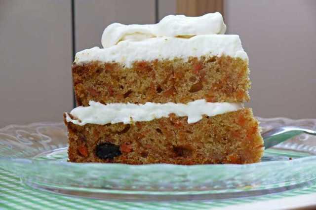 Tarta carrot cake con thermomix