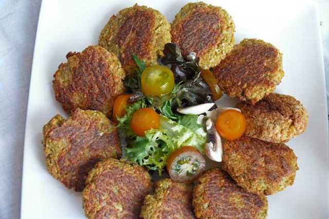receta falafel