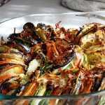 Verduras al horno a la provenzal o tian de verduras