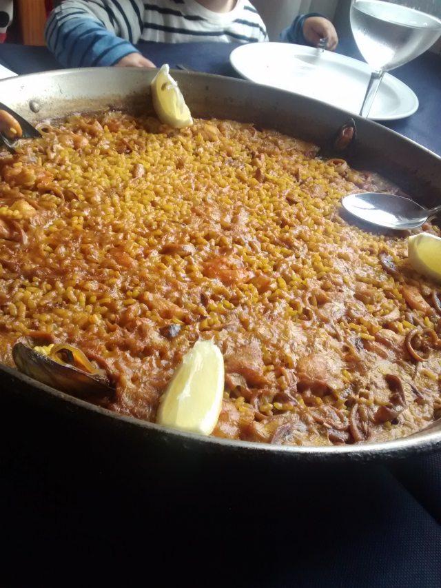 Receta de arroz a banda alicantino