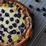 Cheesecake con thermomix, arándanos y un toque de limón