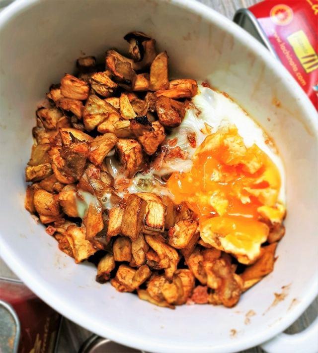 Cocina al microondas berenjena al piment n con huevo for Cocina al microondas