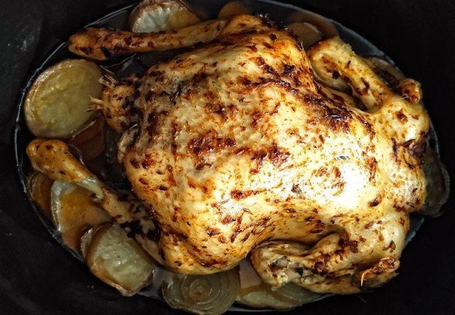 pollo en slowcooker