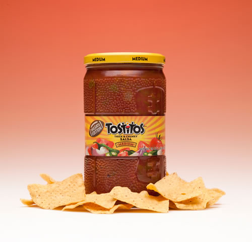 Tostitos Salsa's football jar was selected as the winner in the food category