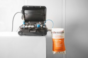 BEUMER GROUP: Testear la capacidad de purga de aire de los sacos de manera fiable con una unidad móvil