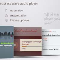 ZoomSounds - WordPress Wave Audio Player with Playlist