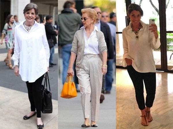 Resultado de imagem para moda mulher madura
