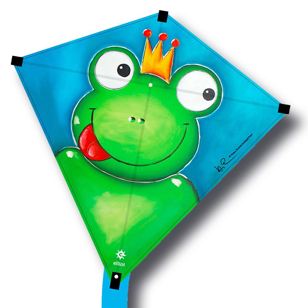 cerf volant grenouille