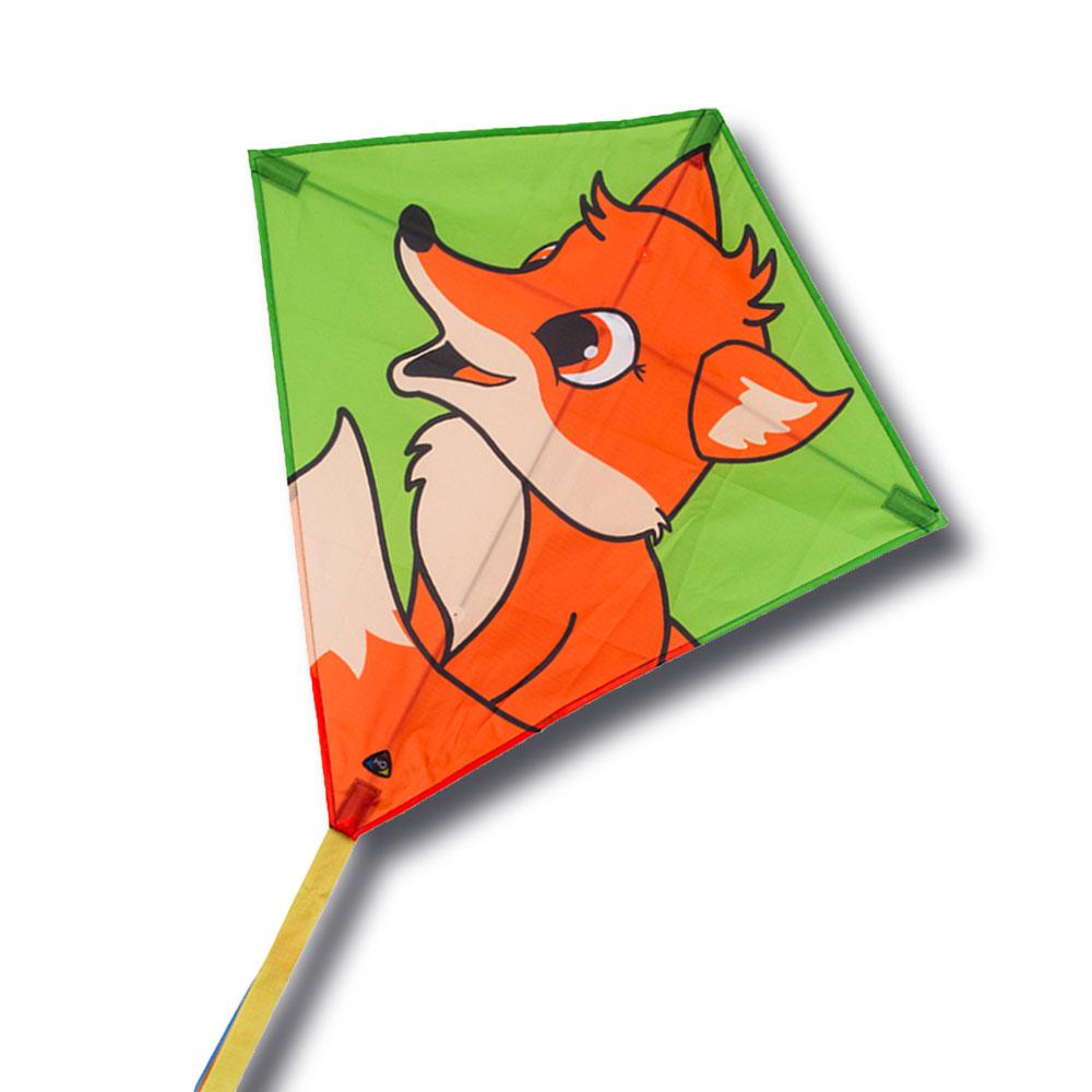 cerf volant renard