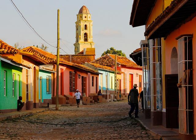 Cuba. Calles de La Habana