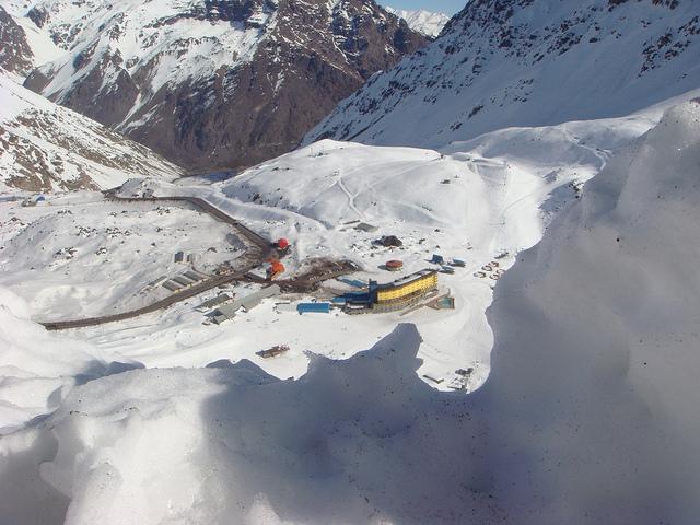 portillo invierno esqui