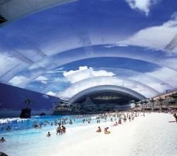 Playa artificial más grande del mundo