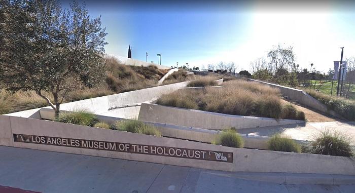 Frente del Museo del Holocausto de los Ángeles