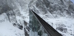Restaurante al pie de Trall Wall