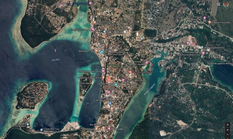 Port Vila, Ciudad capital de Vanuatu