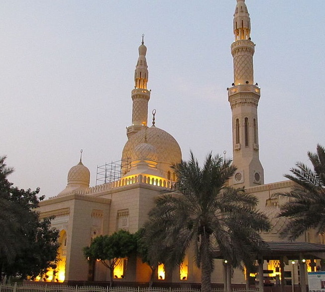 Mezquita Jumeirah en Dubái