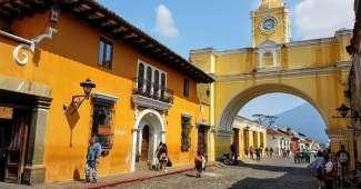 Antigua - Ciudad colonial en Guatemala