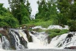 Camerún, África - Saltos del rio Lobe