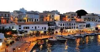 Menorca, camino acuático e las Islas Baleares
