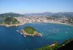 San Sebastián - Vista aérea