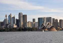 Sidney, Australia. Vista de la ciudad