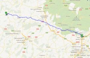 Parcours marche Belfort Jussey