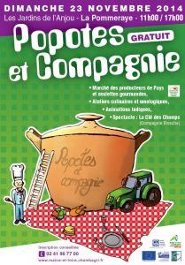 Affiche Popotes et Compagnie