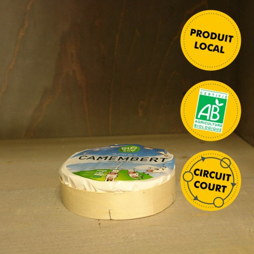 Bio Sev - Camembert au lait cru grand