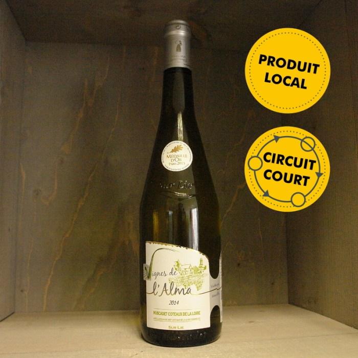 Clos de l'Alma - Les Vignes de l'Alma - Muscadet Coteaux de la Loire