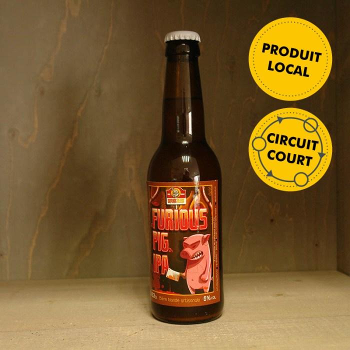 Dumnac Beers - bière Furious Pig IPA
