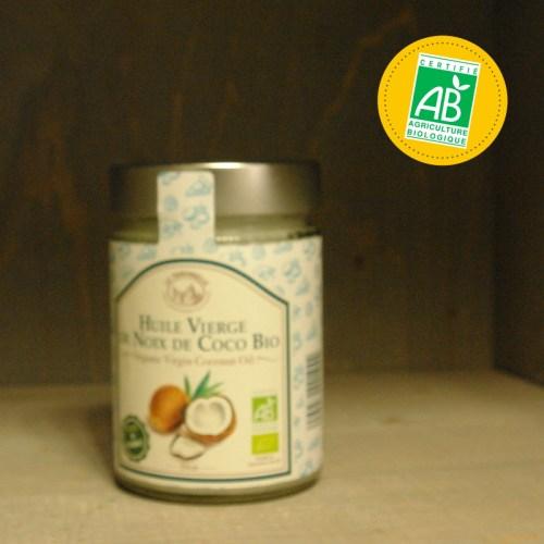Huilerie de la Croix Verte - La Tourangelle - huile vierge de noix de coco bio