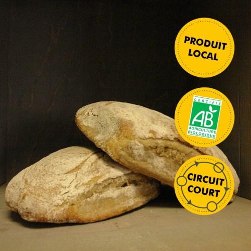 Le Fournil du Petit Coteau - Samuel Poupin - pain nature 500g