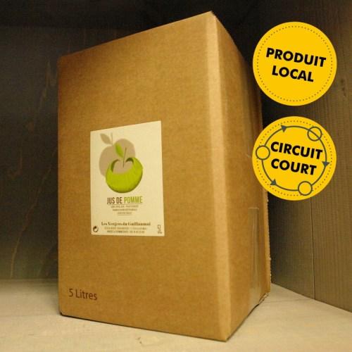 Les Vergers de Guillaumai - jus de pomme 5L