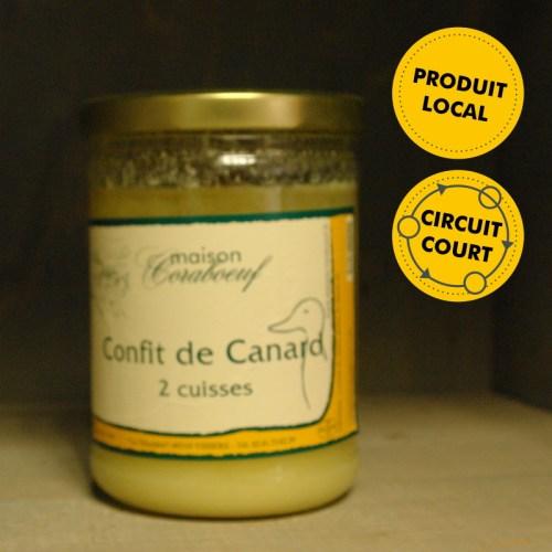 Maison Coraboeuf - confit de canard (2 cuisses)